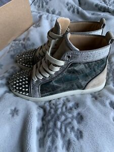 Christian Louboutin Womens Trainers, Size 35 2, Red Soles- LIMITED EDITION