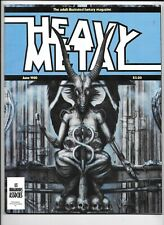 Heavy Metal Magazine Vol 4 #3 June 1980 Captain Stern Signed Bernie Wrightson VF