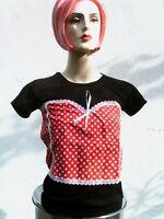 Punk Berry Rockiges ROCKABILLY DIRNDL BOHO BABY DIVA T-Shirt XS 34