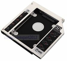 2nd Hard Drive HDD SSD Caddy Adapter for ASUS M51va N61 A53SV G751J TS-L633A DVD