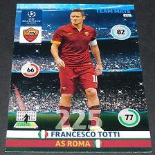 FRANCESCO TOTTI AS ROMA ITALIA UEFA PANINI FOOTBALL CHAMPIONS LEAGUE 2014 2015