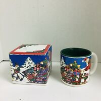 Potpourri Press Designs Coffee Tea Mug  An Arctic Christmas Vintage 1994