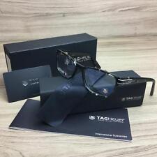 TAG HEUER TH 0533 TH0533 Eyeglasses Frames Grey Tortoise 002 Authentic 52mm