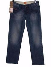 "Bnwt Women's Superdry Zipper Denim Loose Jeans W28"" L32"" RRP£64.99 New"