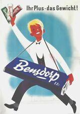 Original vintage poster print TEKRUM COOKIES 1926 Hohlwein