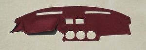 fits 1979-1983 Datsun Nissan 280ZX dash cover mat dashboard pad maroon