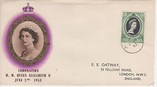 ADEN - 1953 CORONATION -  FIRST DAY COVER