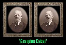 GRANDPA ESBAT 5x7 Haunted Memories Changing Portrait