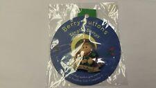 "Zingle-Berrys Berry Buttons ""Born To Shop"" Resin Pin NIP Pavilion Gift"