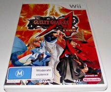 Guilty Gear Core Nintendo Wii PAL *No Manual* Wii U Compatible