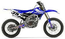 Slain Yamaha Graphics Factory Backing YZF 250-450 06-09
