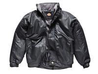 Dickies Mens Cambridge Jacket Black/ Navy Blue Various Size JW23700