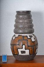 Scheurich Fat lava aztec 70er keramic pottery RAR!!