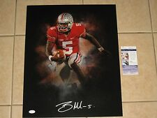 Braxton Miller #5 signed Ohio State Buckeyes Color Burst 16x20 photo JSA