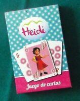 Juego cartas Heidi Gamer Cards completo 51cartas