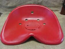 HUGE Vintage Metal Tractor Seat > Old Antique Farm Equipment Iron Cast 8760