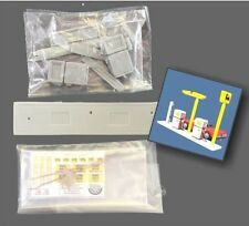C.R. Ninive Agip petrol station supercortemaggiore 70s kit (1/43)