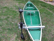 Canoe Motor Mount, Aluminum, Heavy Duty, with brackets