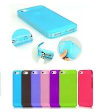 Cover For IPHONE 5-5S Ultra Slim Silicone Soft Clear TPU Dustproof