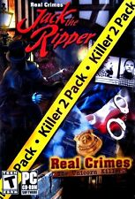 Real Crimes: Jack the Ripper + Unicorn Killer (New Windows PC Hidden Object Game