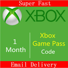 Xbox Game Pass 1 Month Code Trial Xbox One Xbox 360 ~ GLOBAL ~ Instant Delivery