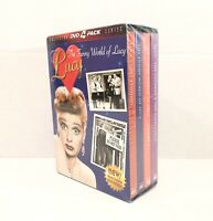 The Funny World of Lucy (DVD, 2001, 4-Disc Set) Collector Series ~ Lucille Ball