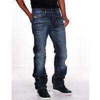 Diesel Jeans Safado 885K Regular Slim Straight Men Blue New