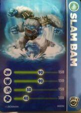 Slam Bam Skylanders Giants Stat Card Only!