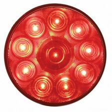 """UNITED PACIFIC 38770B - 10 LED 4"""" Stop, Turn & Tail Light - Red LED/Red Lens"""