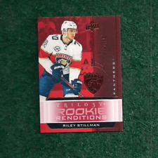 RILEY STILLMAN - 554/799 - RED - ROOKIE RENDITIONS CARD #RR-11 - 2019-20 TRILOGY