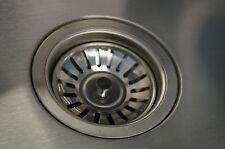 kitchen sink basket strainer waste plug drainer drain stainless steel