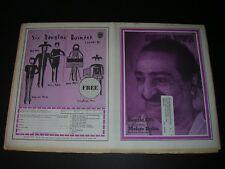 Vintage ROLLING STONE Quarter fold Newspaper #71 MEHER BABA 11.26.1970