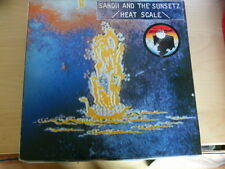 Alfa 12 inch LP  HEAT SCALE von SANDII AND THE SUNSETZ  (1981)