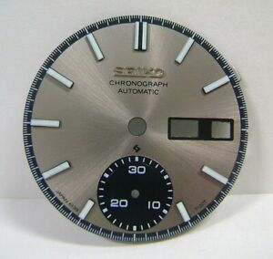 NEW AFTERMARKET REPLACEMENT DIAL FOR SE1KO 6139-7120 AUTOMATIC CHRONOGRAPH WATCH