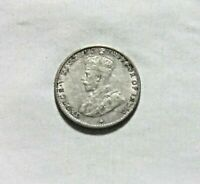 STRAITS SETTLEMENTS. SILVER 5 CENTS, 1918. KING GEORGE V.