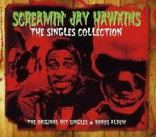 SCREAMIN' JAY HAWKINS THE SINGLES COLLECTION - 2 CD BOX SET & BONUS TRACKS