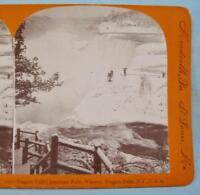 Keystone Stereoview Aerial view Niagara Falls /& Rapids 600//1200 Card Set #1196 A