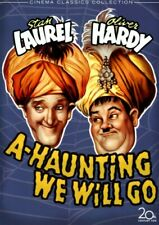 LAUREL AND HARDY DVD - A HAUNTING WE WILL GO - NEW AND SEALED