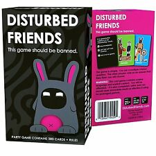"""""""Disturbed Friends"""" NEW Funny Hilarious Adult Party Card Game 21+"""