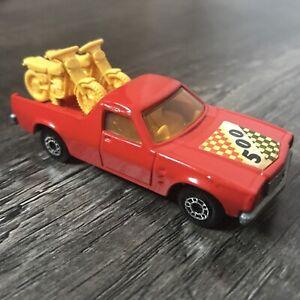 Vintage Lesney 1977 Matchbox No.60 Superfast Holden Pickup Truck Red 1:64 Near M
