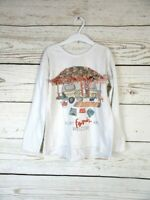 T-shirt blanc avec dessin Zara fille en très bon état, taille 8 ans