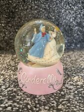 More details for disney parks cinderella and fairy godmother snow globe glitter globe snowglobe