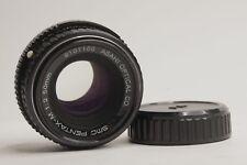 SMC Pentax-A 1:2 50mm f/2 Manual Focus Prime Lens - K Mount Good Condition #3fr
