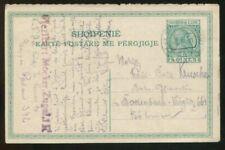 Albania Albanien 5q Postcard Austria Military Post WW1