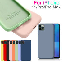Matte Slim Original Silicone Case Cellphone Back Cover For iPhone 11 Pro Max