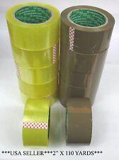 Lot Of 6123672 Rolls 2 X 110 Yards 100 M Carton Sealpacking Tape Tp110