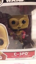 Star Wars FUNKO POP C-3PO STARWARS (64) Action Figure P556 The Force Awakens