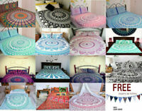 Bedding Set Single/Double Quilt Duvet Cover Mandala Gypsy Hippie Indian Cover