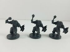 3x Dungeons & Dragons Miniatures Wrath of Ashardalon Board Game Orc Smasher ~2in