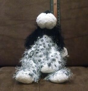 "2002 Ty PUNKIE Collection:  ""POLKA DOT the dog w/ALL Tags (about 8 inch)"